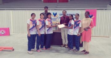 Anna University Zone-10 Badminton Winners