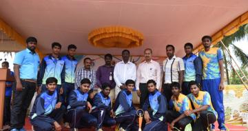 Anna University Zone-10 Volleyball Winners