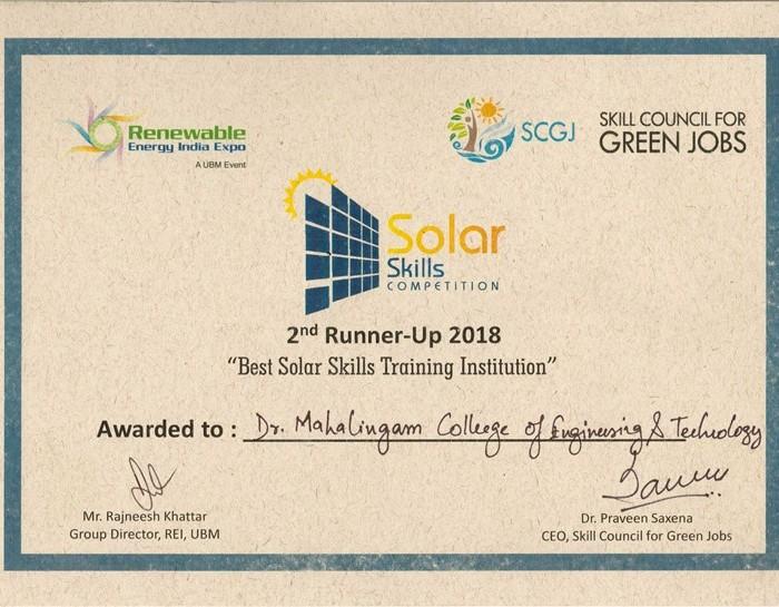SolarSkill-Certificate